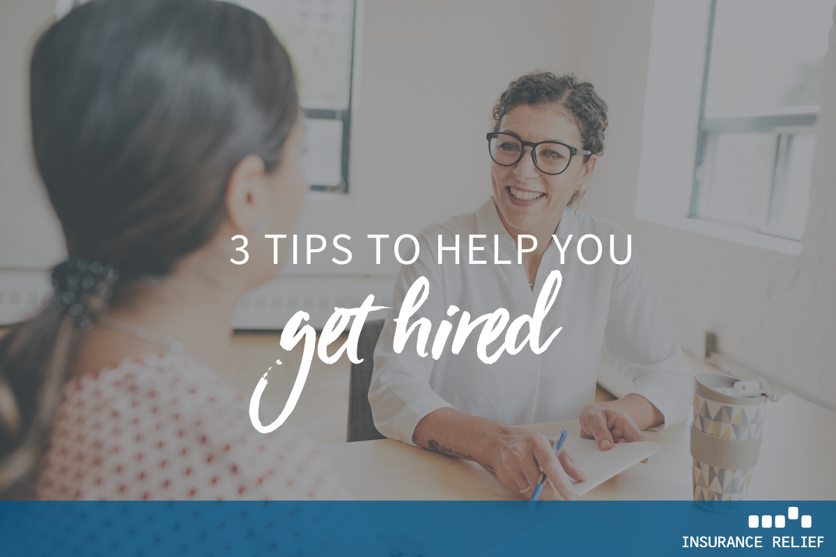3 Tips to Get Hired