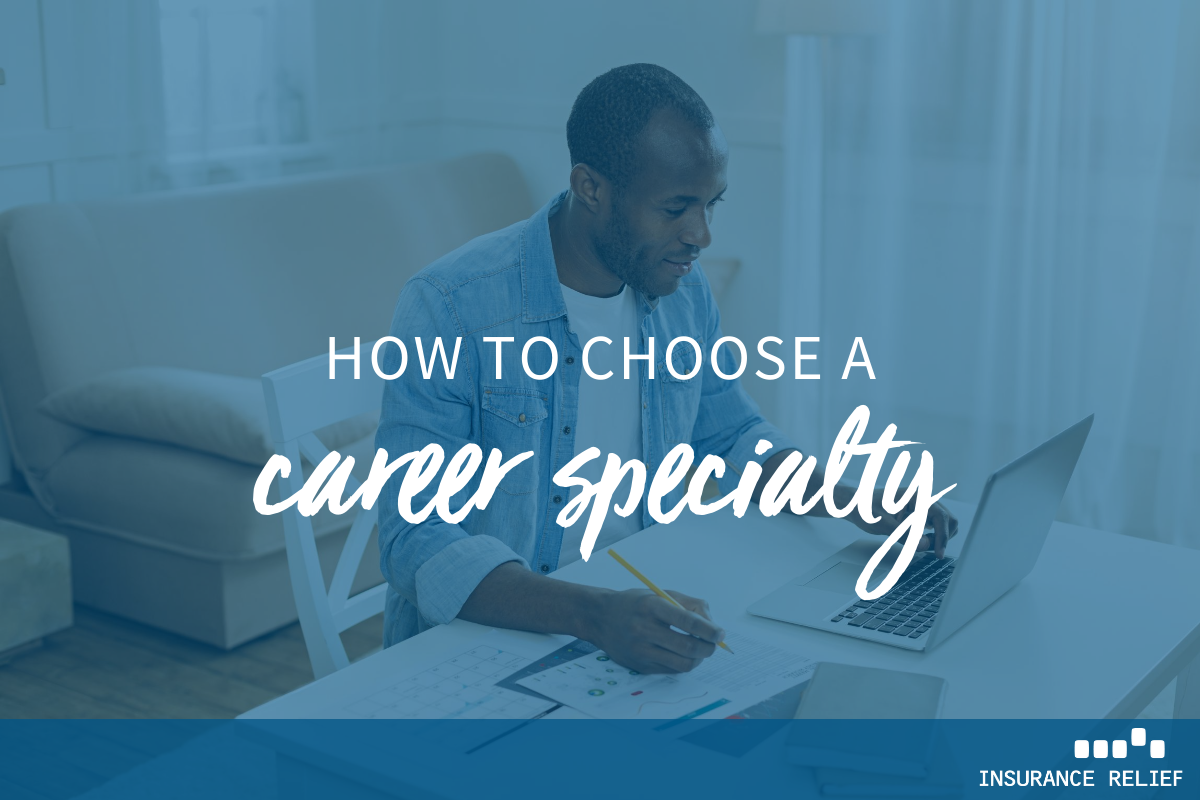 how to choose a career specialty