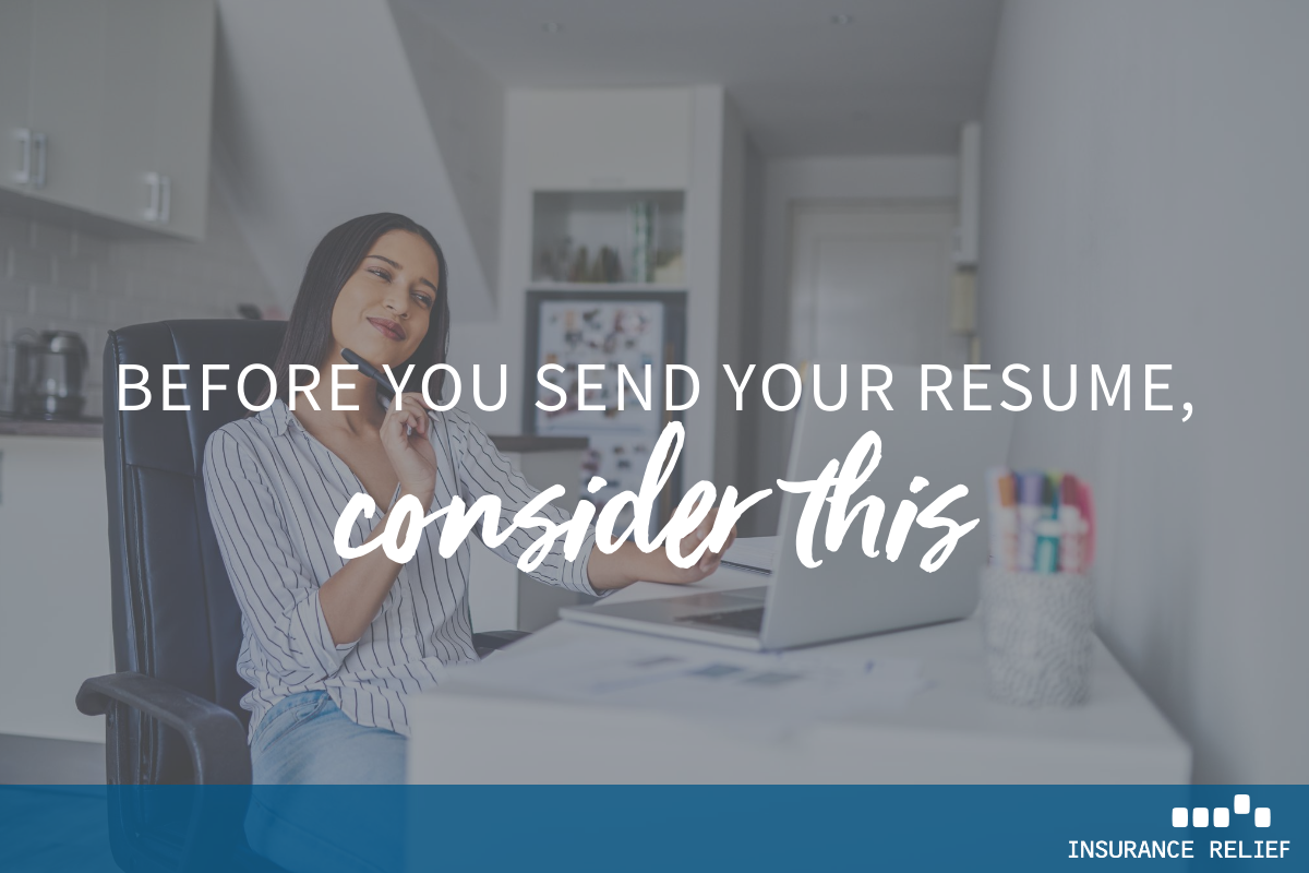 Before You Send Your Resume
