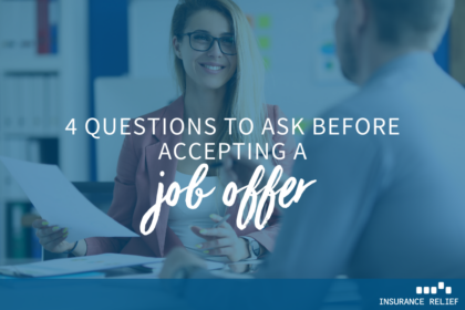 questions before taking a job